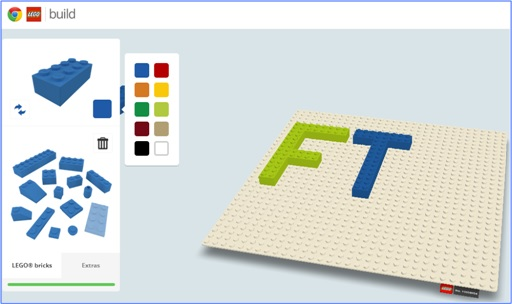Fabulous and Cool Google Capabilities - Build or Play with Lego