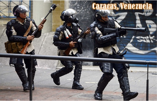 Ferguson Clashes - Caracas Venezuela vs Ferguson - Caracas