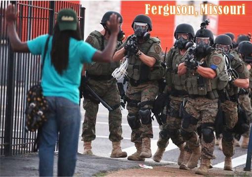 Ferguson Clashes - Caracas Venezuela vs Ferguson - Ferguson