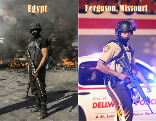 Ferguson Clashes - Egypt vs Ferguson