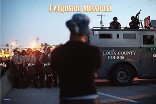 Ferguson Clashes - Ukraine vs Ferguson - Ferguson