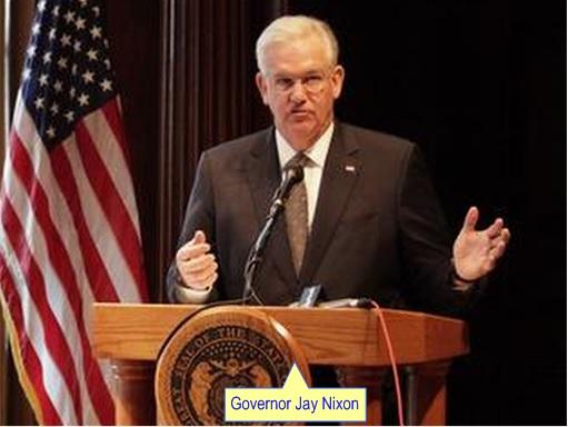 Ferguson Crisis - Governor Jay Nixon