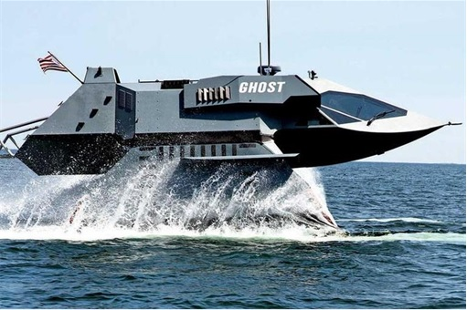 Juliet Marine Systems Ghost Stealth Warship - Prototype 1
