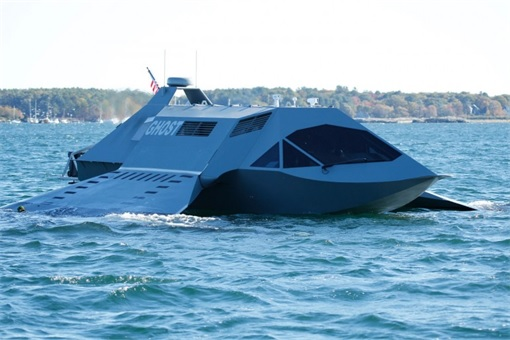 Juliet Marine Systems Ghost Stealth Warship - Prototype 3