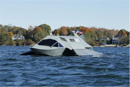 Juliet Marine Systems Ghost Stealth Warship - Prototype 4