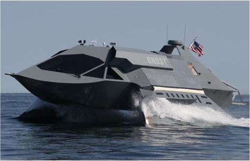 Juliet Marine Systems Ghost Stealth Warship - Prototype 5
