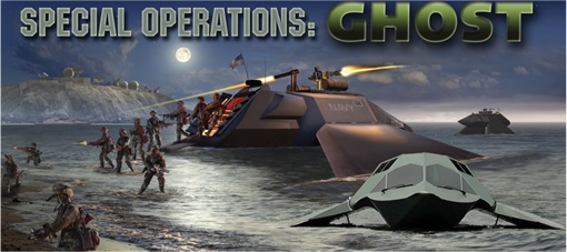 Juliet Marine Systems Ghost Stealth Warship - Special Operations