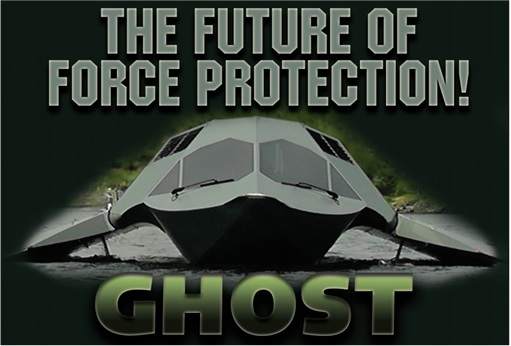 Juliet Marine Systems Ghost Stealth Warship - The Future of Force Protection