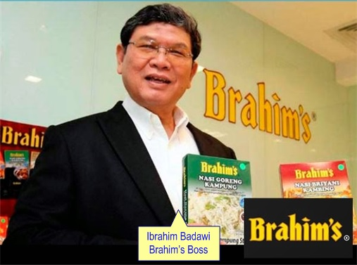 Malaysia Airlines Bailout - Brahim's Boss Ibrahim Badawi