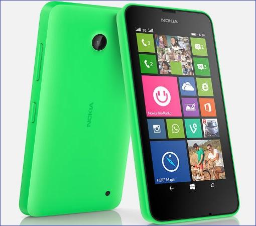 Microsoft Nokia Lumia 530 - Green
