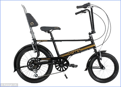 Raleigh Chopper 2015 Special Edition Gold and Black