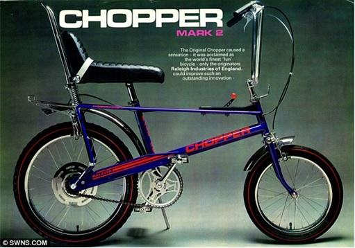 Raleigh Chopper Mark 2 - Blue