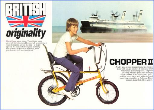 Raleigh Chopper Mark 2 - Yellow