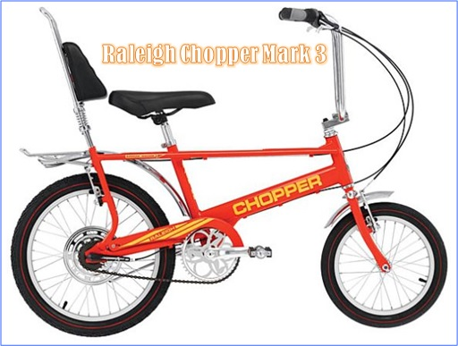 Raleigh Chopper Mark 3 - Red