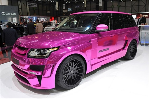 Range Rover - pink Hamann Mystere