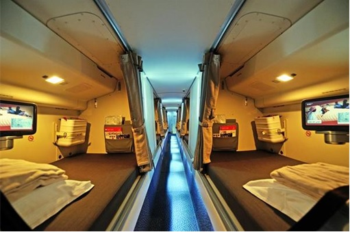Secret Revealed - Crew Rest Area - Cabin Crew Rest Area - Emirates Airline Boeing 777