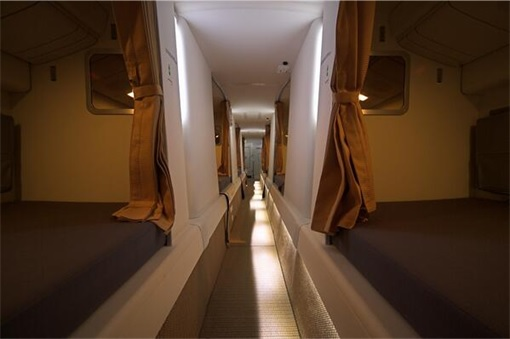 Secret Revealed - Crew Rest Area - Cabin Crew Rest Area - Etihad Airline Boeing 777