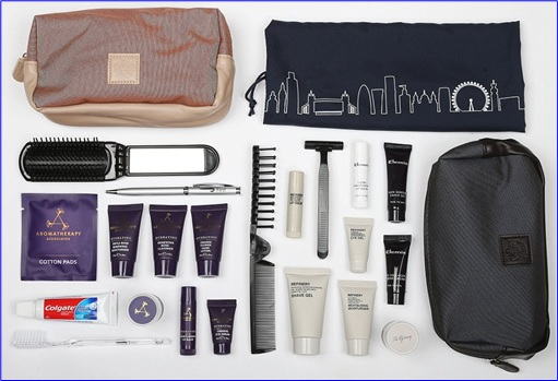 Top-15 Best & Luxurious First Class Amenity Kits - British Airways - 5 Stars