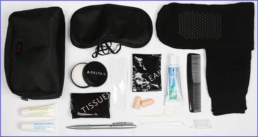 Top-15 Best & Luxurious First Class Amenity Kits - Delta - 5 Stars