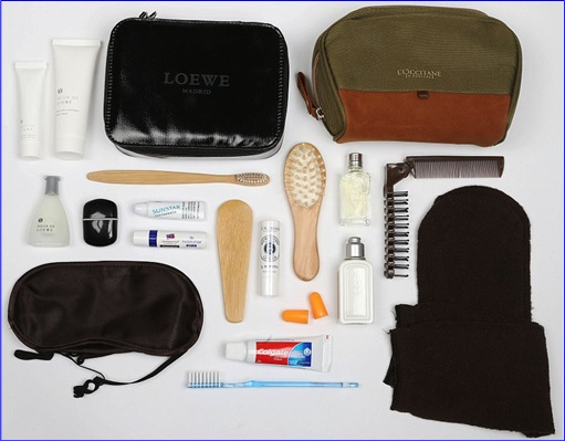 Top-15 Best & Luxurious First Class Amenity Kits - Garuda Indonesia - 5 Stars