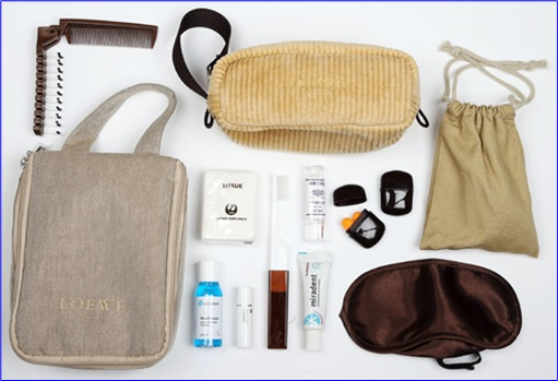 Top-15 Best & Luxurious First Class Amenity Kits - Japan Airlines - 6 Stars