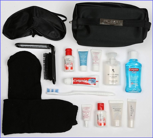 Top-15 Best & Luxurious First Class Amenity Kits - Malaysia Airlines - 5 Stars