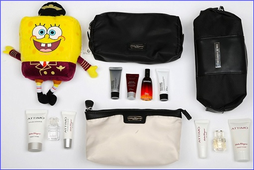 Top-15 Best & Luxurious First Class Amenity Kits - Qatar - 6 Stars