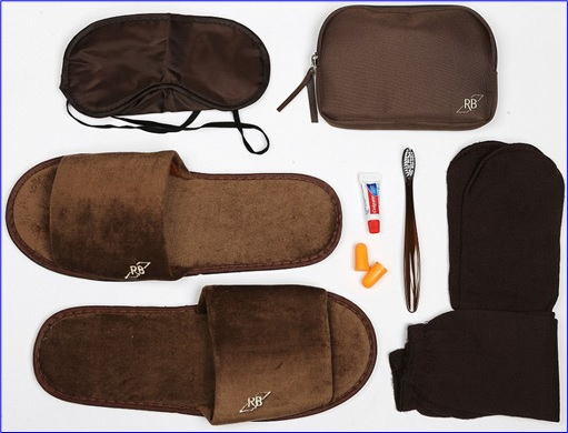 Top-15 Best & Luxurious First Class Amenity Kits - Royal Brunei - 5 Stars