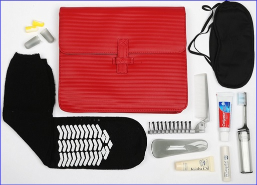 Top-15 Best & Luxurious First Class Amenity Kits - Turkish Airlines - 5 Stars