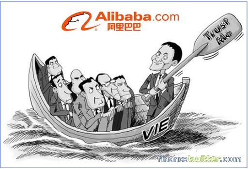 Alibaba Jack Ma Rowing Boat - Trust Me Comic