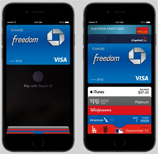 Apple Pay - Pay with Touch ID and Credit Card