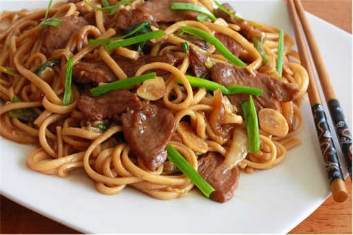 China Opium-Laced Noodle - Cooked Noodle