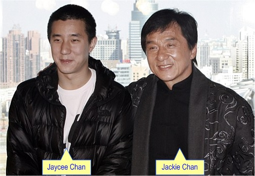 China Opium-Laced Noodle - Jackie and Jaycee Chan