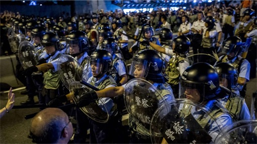 Hong Kong Demonstrations - Police