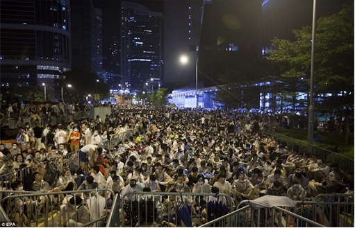 Hong Kong Demonstrations - Thousands Protestors - 2