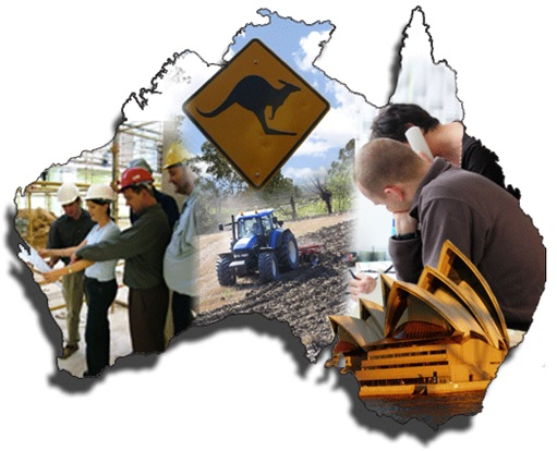 Jobs in Australia - Map