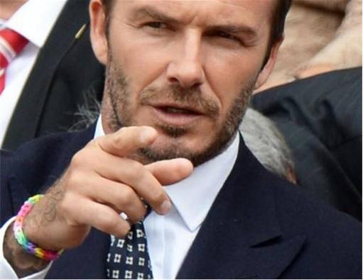 Loom Bands - Rainbow Loom - David Beckham wearing