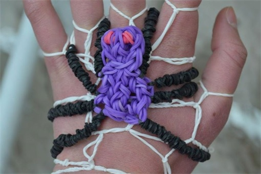 Loom Bands - Rainbow Loom - spider