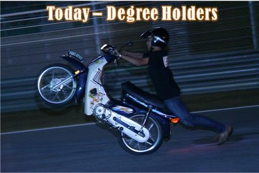 Malaysian Degree Holders - Today
