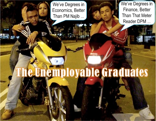 Malaysian Degree Holders - Unemployable May Rempit