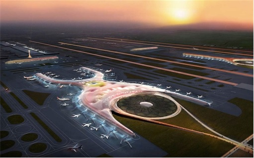 Mexico City New Airport - X Symbol - 2