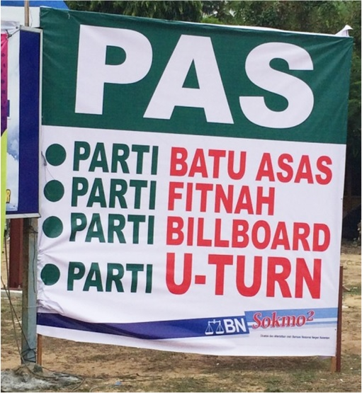 Pengkalan Kubor 2014 by-Election - PAS attacked by BN