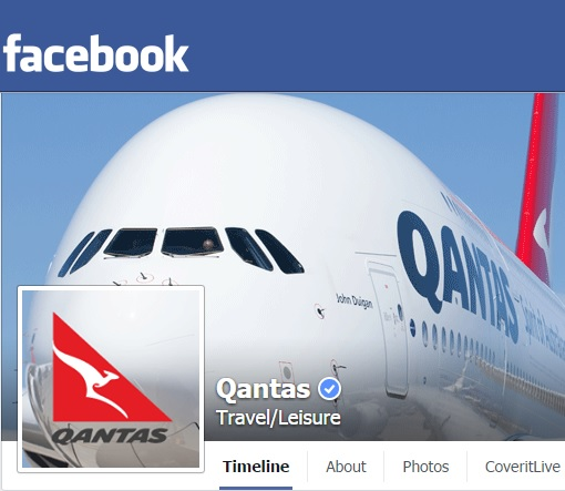 Qantas Real Facebook Page