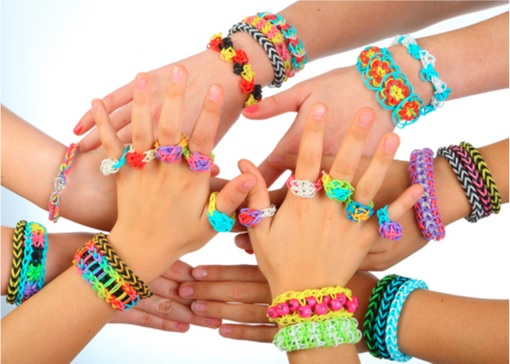 Rainbow Loom - Multiple Designs from difference hands