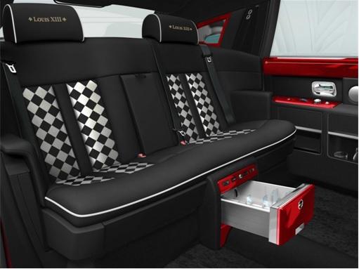 Rolls-Royce for Louis VIII - internal