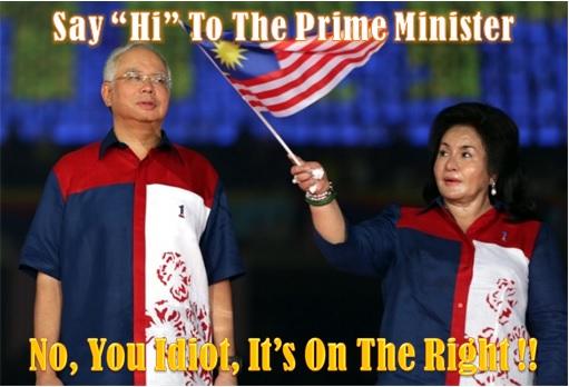 Say Hi To Prime Minister Rosmah Mansor