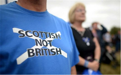 Scotland Independence - Scottish Not British