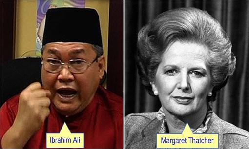 Selangor Menteri Besar Fiasco - Ibrahim Ali vs Margaret Thatcher