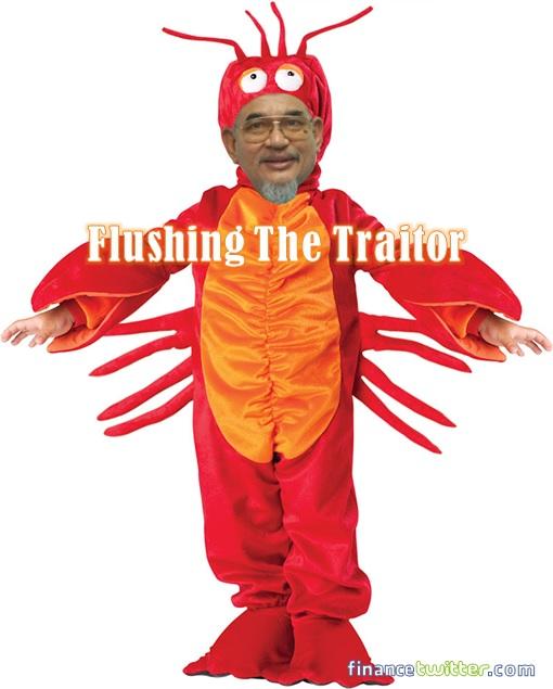 Selangor Menteri Besar Fiasco - Traitor Hadi Awang Lobster
