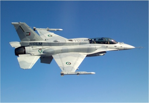 UAE F16 Desert Falcon Fighter Jet - 2